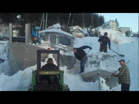 Snowstorm Aftermath - Part II - Cordova, Alaska - January 9 & 10, 2012