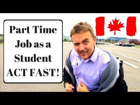 Part Time Job As A Student, ACT FAST!!!