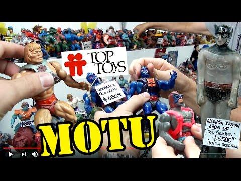 TOP TOYS MOTU HE MAN LOS MASTERS DEL UNIVERSO LAS PUERTAS DEL TIEMPO ARGENTINA VINTAGE TOY STORE