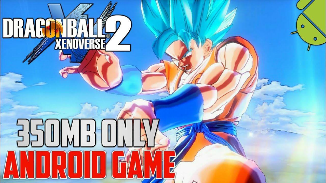 [350MB] Dragon Ball Xenoverse 2 Mod PPSSPP ISO Highly Compressed On Android #1