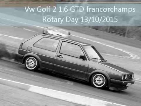 vw golf 2 gtd diesel francorchamps rotary day 39 s 13 10 2015 youtube. Black Bedroom Furniture Sets. Home Design Ideas