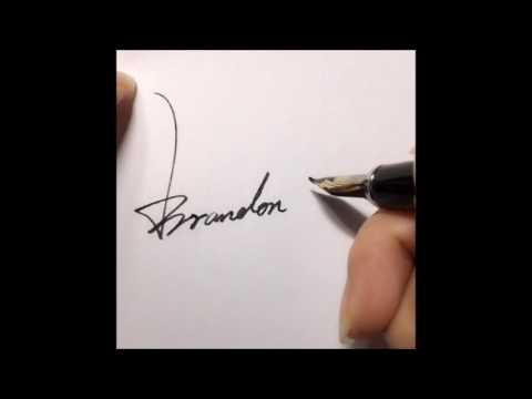 Learn how to make a impressive signature!