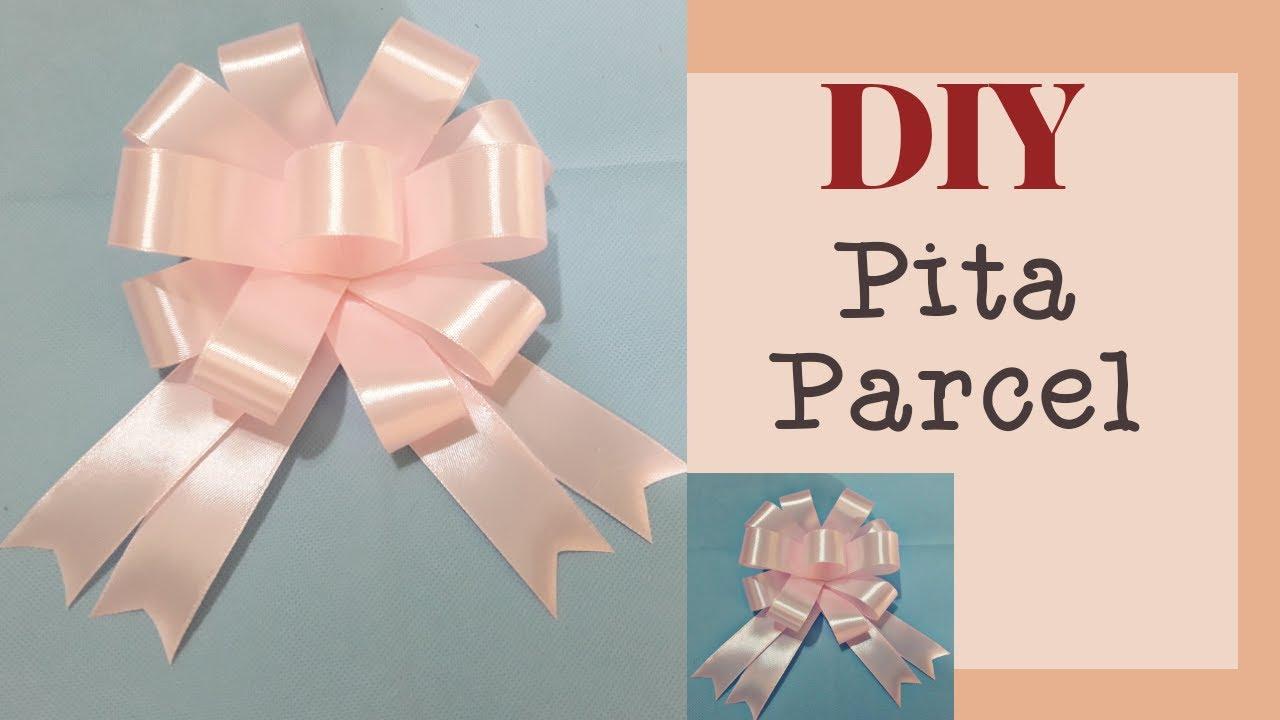 Cara Membuat Pita Parcel Mudah    DIY RIBBON BOW   YouTube ...