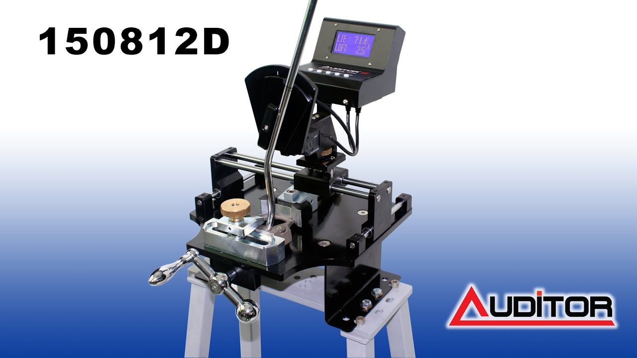 loft and lie machine. 150812d evolution ii digital lie \u0026 loft putter bending gauge and machine