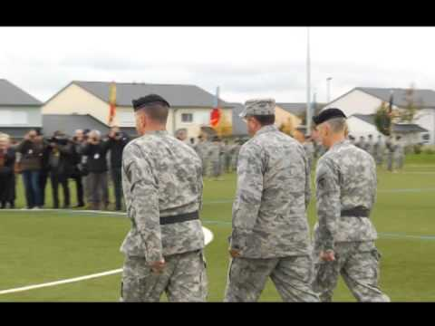 US Army Europe Change of Command