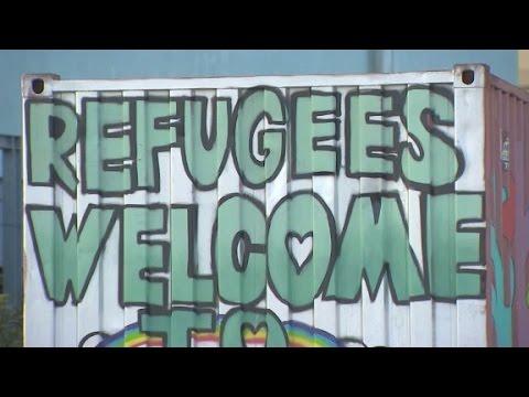 Refugees stranded at Piraeus Port