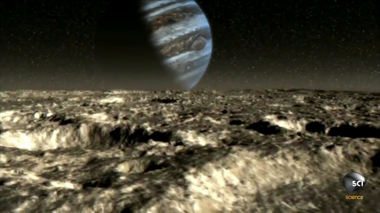 Could There Be Life Under Ganymede's Icy Crust? - YouTube