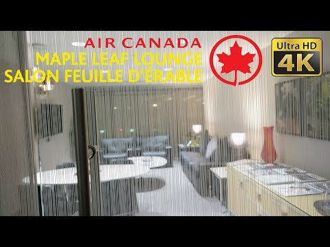 Air Canada Maple Leaf Lounge At Toronto YYZ Terminal 1 International Departure