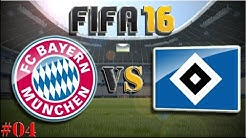 FC Bayern München vs HSV (Fifa 16 Trainerkarriere #04) Let´s Play Fifa 16