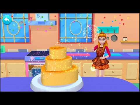 Permainan Barbie Memasak Kue Ulang Tahun Barbie Cantik Youtube
