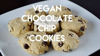 Gluten-free, Vegan Chocolate Chip Cookies