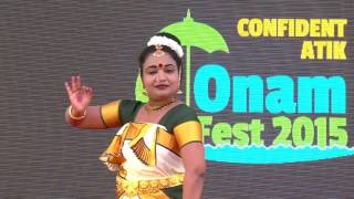 Onam Theme Dance - Confident ATIK Onam Fest 2015
