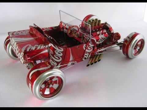 Chế tạo xe hơi đồ chơi với 5000 đồng động cơ không tốn nhiên liệu