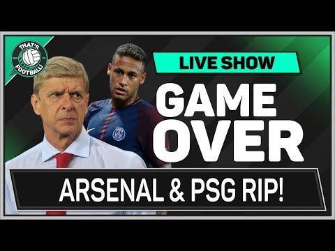 ARSENAL Footbal Club RIP! Plus Will PSG Destroy Football?