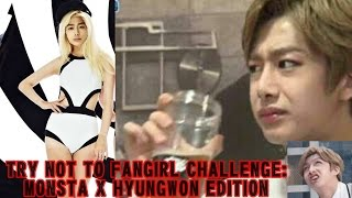 Video (NEW NOT RE-UPLOADED) TRY NOT TO FANGIRL CHALLENGE: MONSTA X HYUNGWON EDITION download MP3, 3GP, MP4, WEBM, AVI, FLV Juni 2018