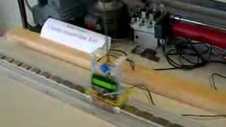 moteur synchrone linéaire + pendule inverse