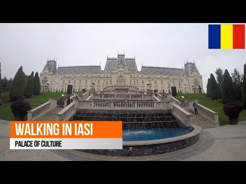 Walking in Iasi (Palace of Culture)