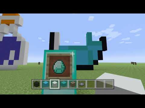 Minecraft diamond Pixel art tutorial thumbnail