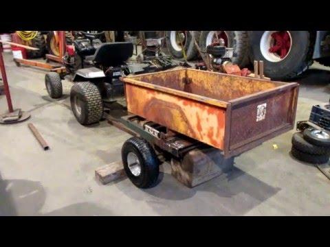 Lawn Tractor Trailer Build Part 2