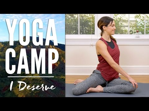 Yoga Camp - Day 13 - I Deserve