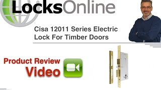 Cisa Electric Door Lock for wooden doors '12011 60'   LocksOnline Product Review