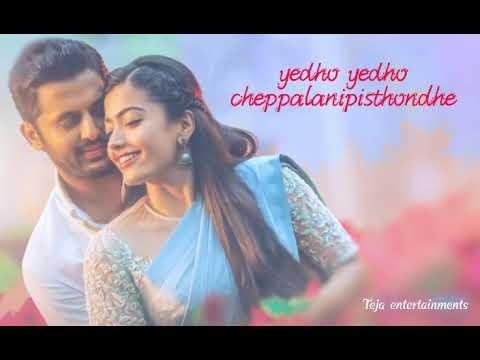 Sara Sari Song Whatsapp Status Lyrical Bheeshma Movie Songs Whatsapp Status Sara Sari Song Youtube