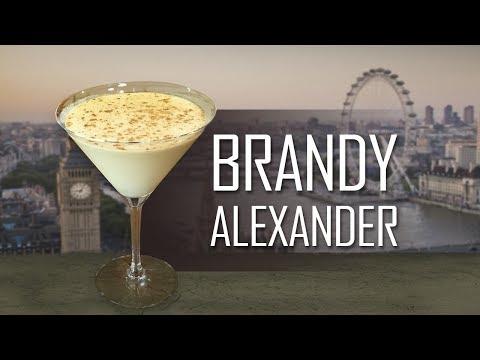 ¿Cómo Hacer Un BRANDY ALEXANDER?