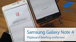 Samsung Galaxy Note 4 Flipboard Briefing entfernen