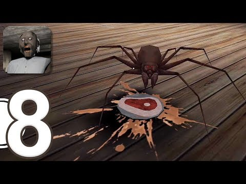 Granny - Gameplay Walkthrough Part 8 - Practice Mode And New Spider (iOS)
