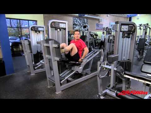 Тренажер Жим ногами сидя. Серия Hammer Strength Select
