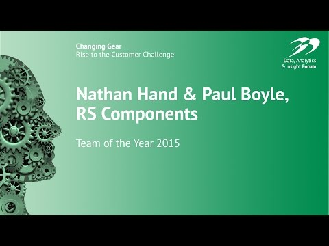 The Team of the Year, for Data & Analytics – RS Components