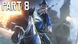 Red Dead Redemption 2 Gameplay Walkthrough, Part 8 - Train Heist! (RDR 2 PS4 Pro Gameplay)