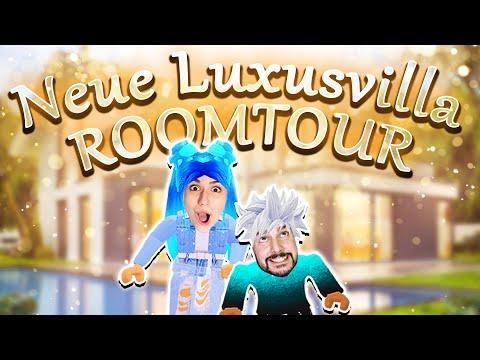 ALLES NEU! 🏠 Wie sieht die neue Luxusvilla von Familie Wolke aus? Roomtour [Roblox Deutsch]