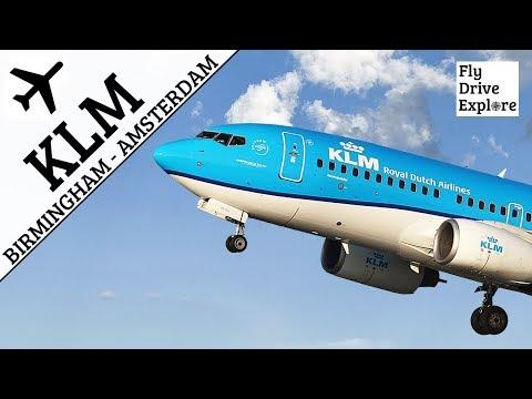 KLM Flight Review - Birmingham To Amsterdam Schiphol