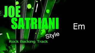 Rock  Joe Satriani Style #4 Guitar Backing Track 165 Bpm Highest Quality
