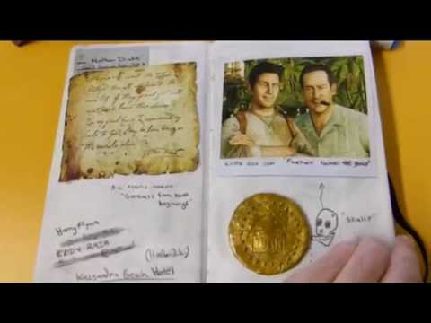 Uncharted 2 Drake's Journal Replica