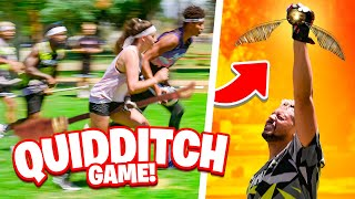 We Learn How T๐ Play Quidditch In Real Life! w/2Hype Goes Pro