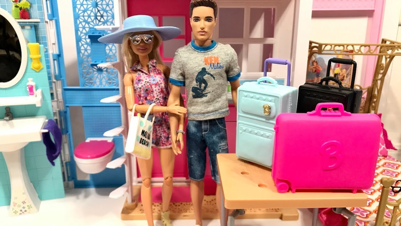 Barbie And Ken Vacation Pool Youtube