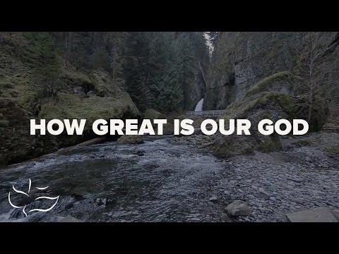 How Great is Our God   Maranatha! Music (Lyric Video)