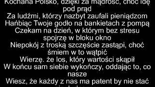 O.S.T.R. - Kochana Polsko TEKST