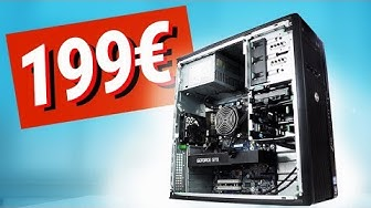 199€ GAMING PC Monster - das JEDER bauen kann!! TEST & Zusammenbauen