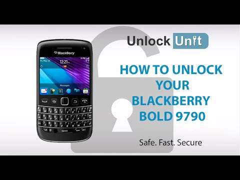 How To Unlock BlackBerry Bold 9790 By Unlock Code To Work With Any