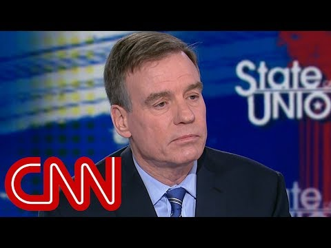 Sen. Warner: I don't know what Trump doesn't get about the law