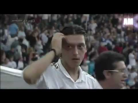 mesut ozil coughing