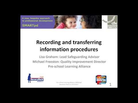 Effective safeguarding record keeping