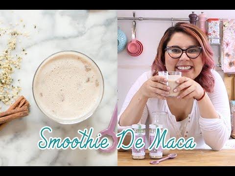 Smoothie de Apapachador de Maca y Canela| Chokolat Pimienta ♥