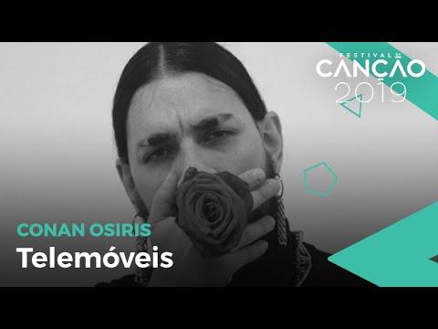 Conan Osíris - Telemóveis (Lyric Video) | Festival da Canção 2019