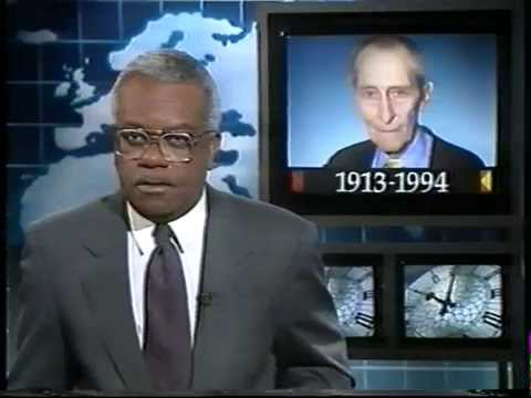 Peter Cushing  Death  ITN   1994