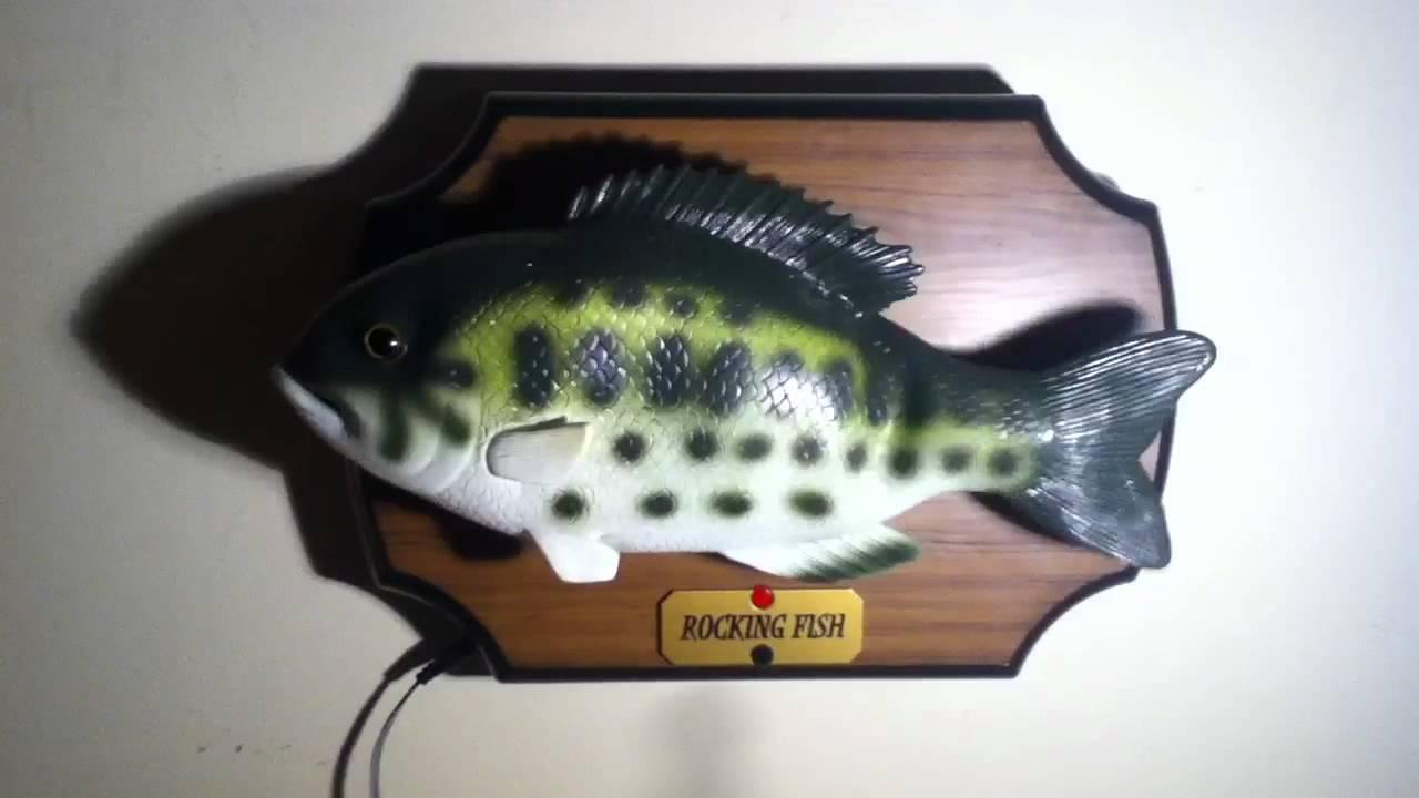 Singing fish youtube for Talking fish toy