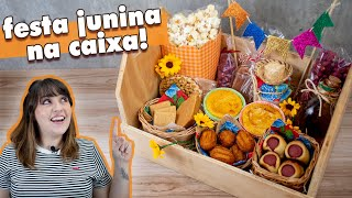 Baixar FESTA JUNINA na CAIXA para vender! | Tábata Romero